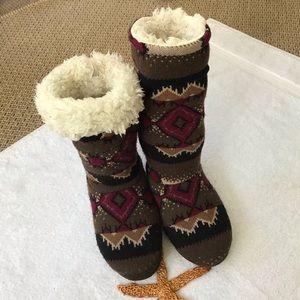 🌞2/$15🌞 Muk Luks Slipper Boots